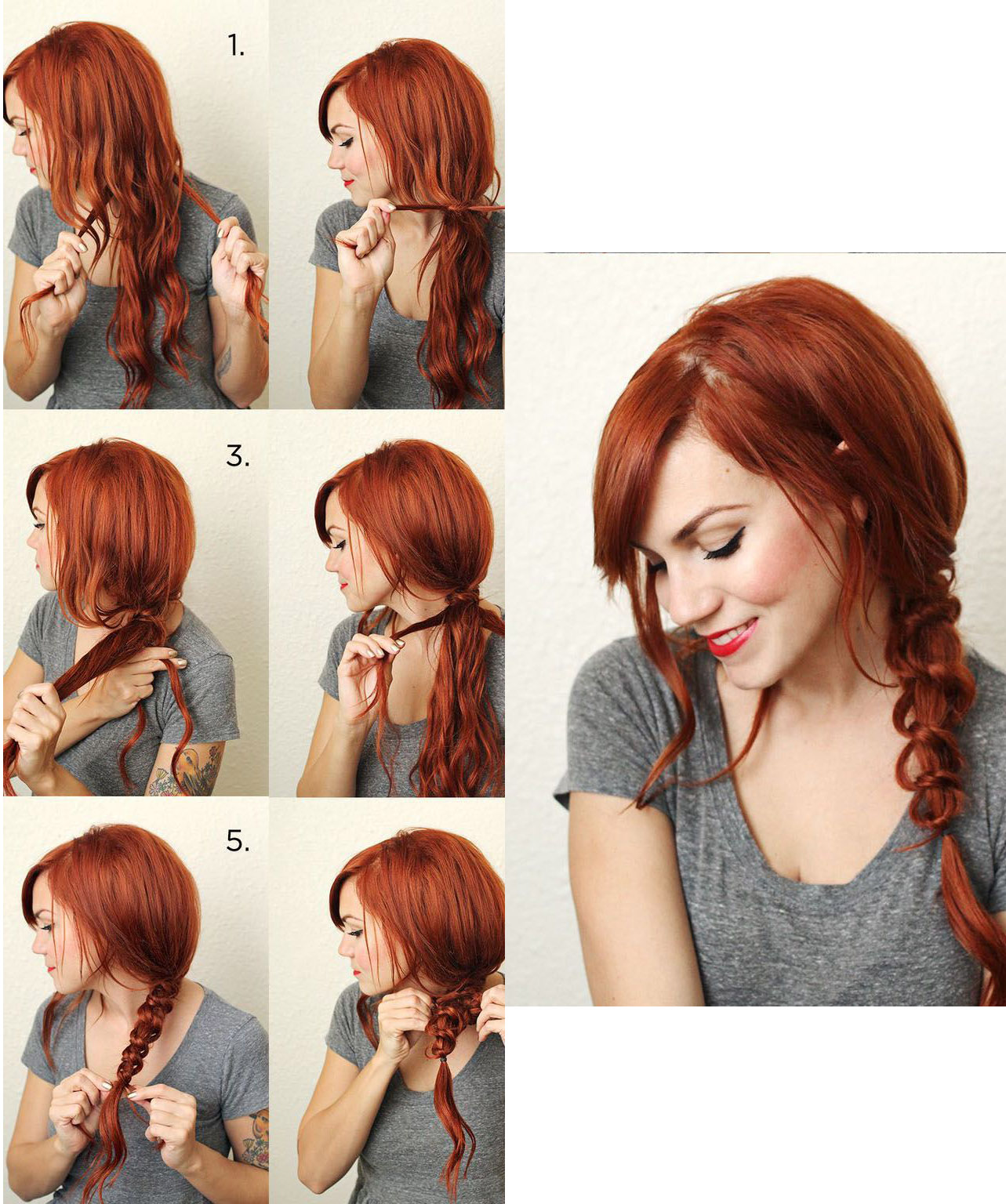 Прическа из волос по плечи фото