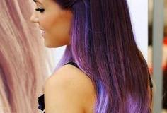 Фиолетовые тона