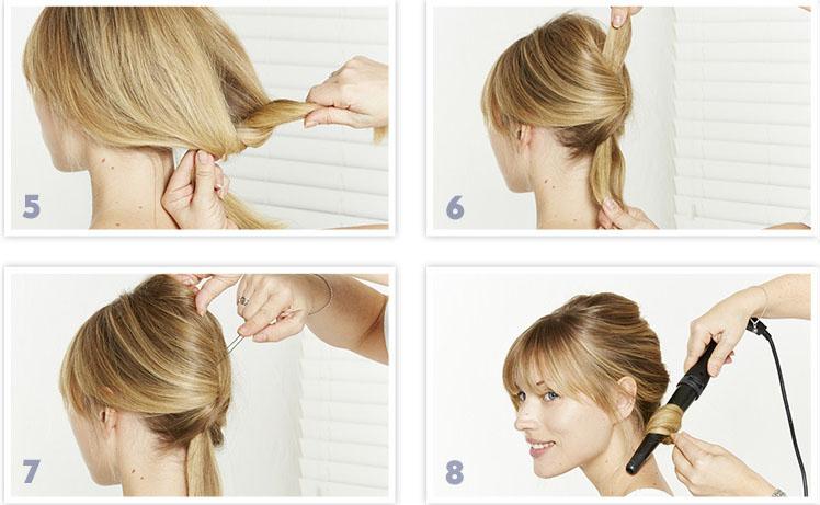 Прическа своими руками на тонкие волосы фото 23