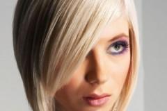 на блондинке