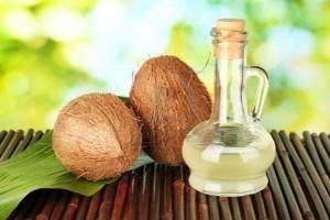 кокосовое масло производит укрепляющий эффект