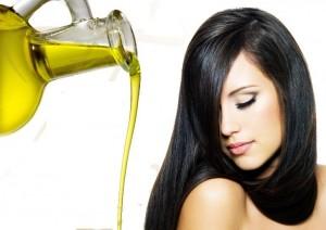 масло и волосы