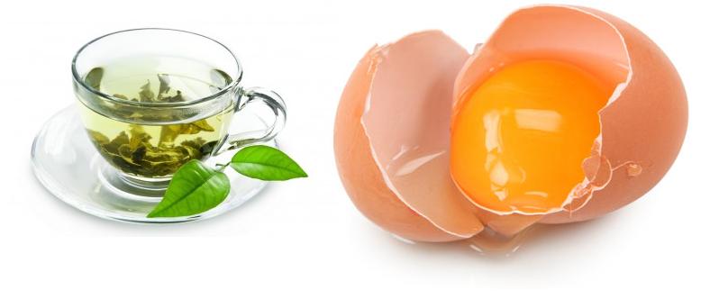 яйцо и чай