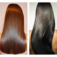 ламинирование придает волосам лоск