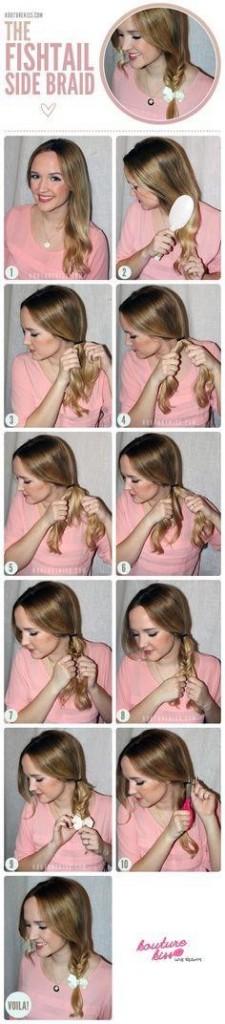 Как сделать прическу с косами